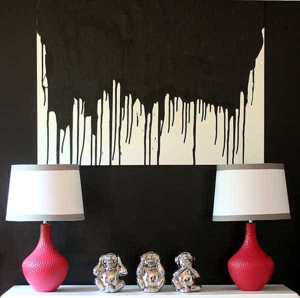 1-easy-DIY-paint-drip-wall-art