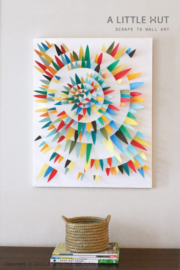 18 DIY Canvas Art Ideas