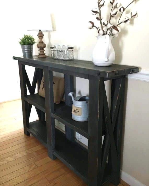 Shoe-Rack Table