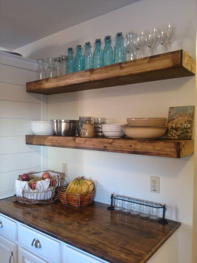 15 DIY Floating Shelves Ideas | Desert Domicile