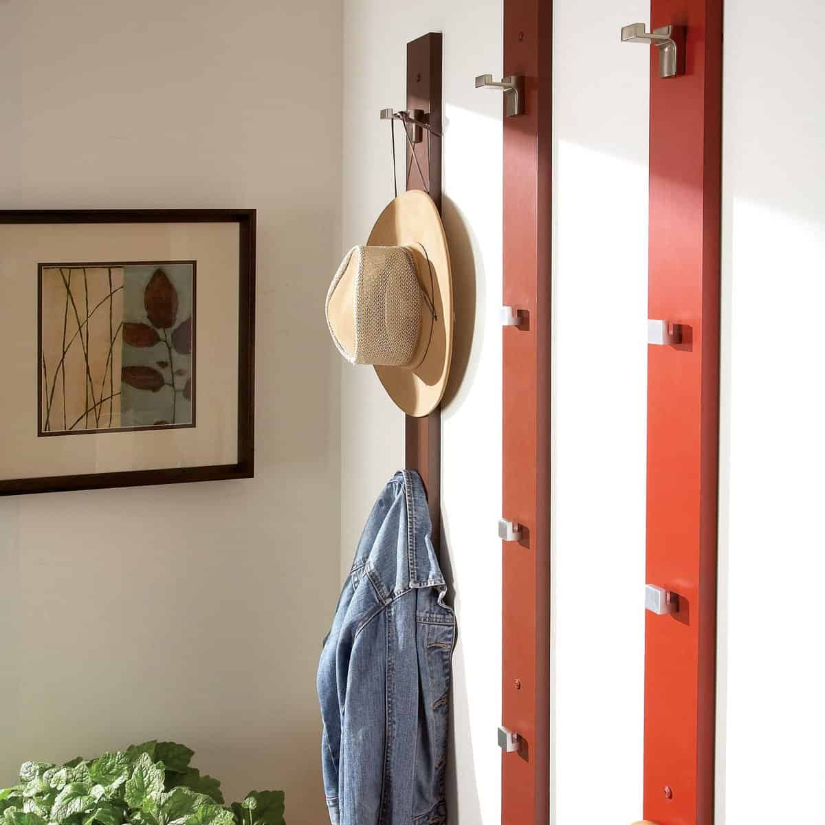 22 DIY Hat Rack Ideas
