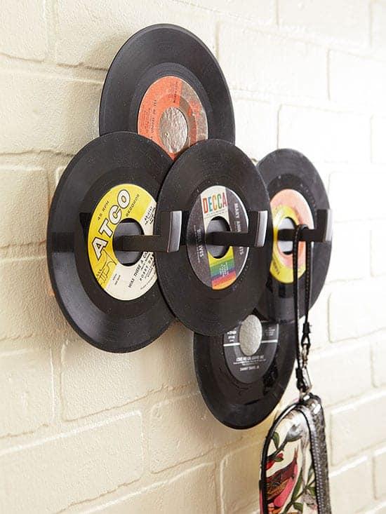 10-Vintage-Records-Hat-and-Bag-Rack