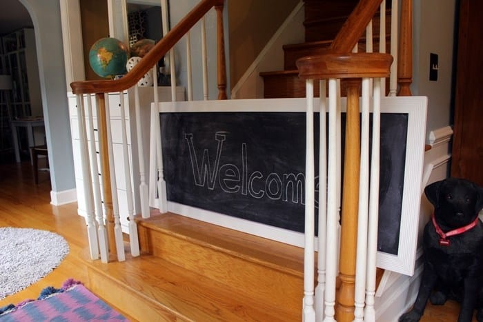 14-Chalkboard-Baby-Gate