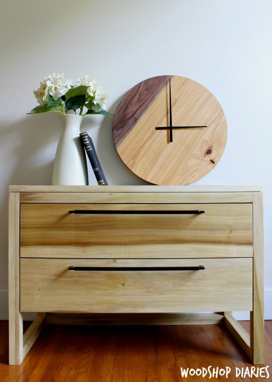 14-Two-Tone-Modern-Wood-Clock