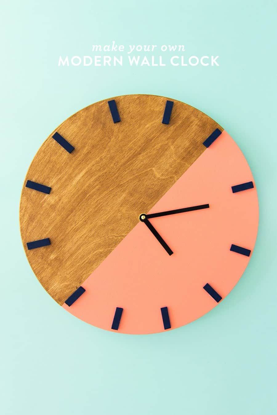 15 Beautiful DIY Wood Clock Ideas in 2021