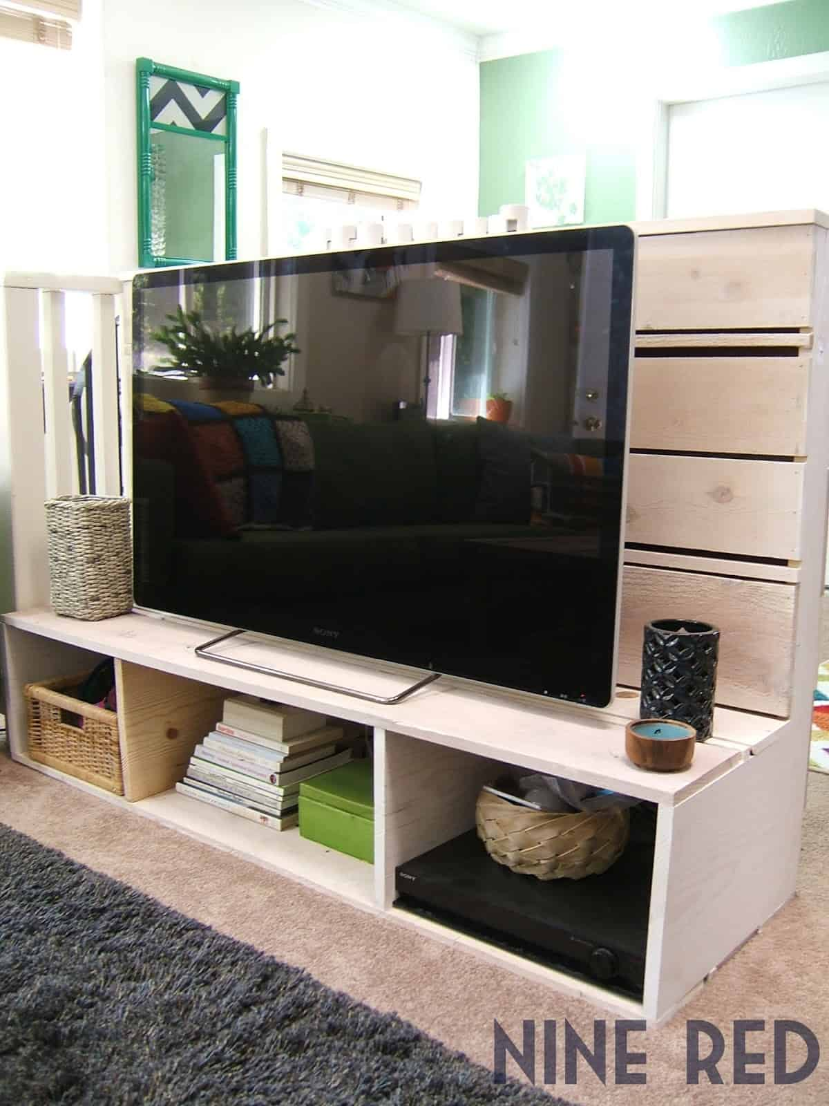 27 Creative DIY Entertainment Center Ideas in 2021