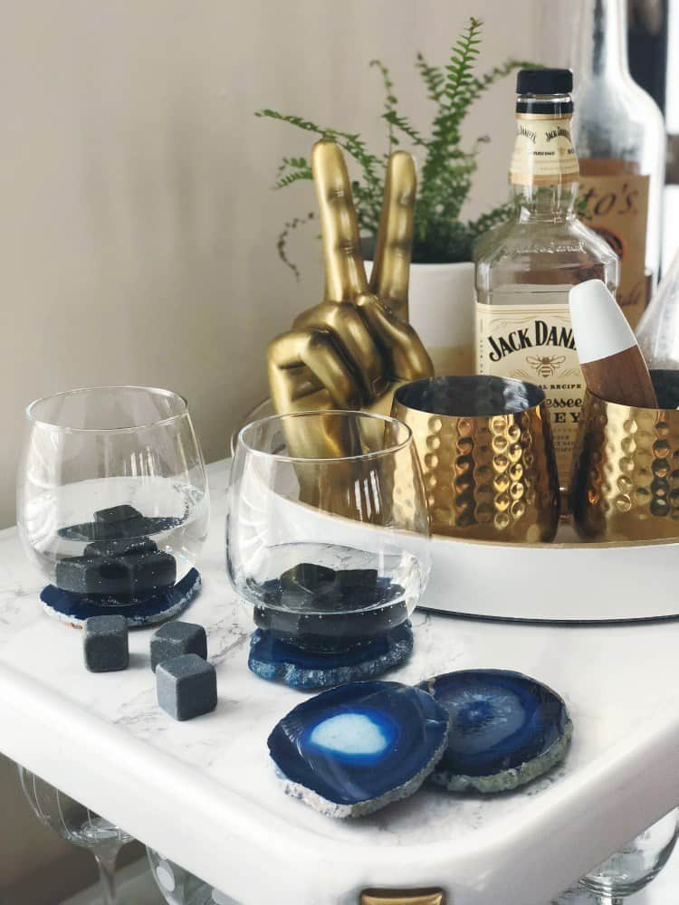 10 Creative DIY Agate Coaster Ideas