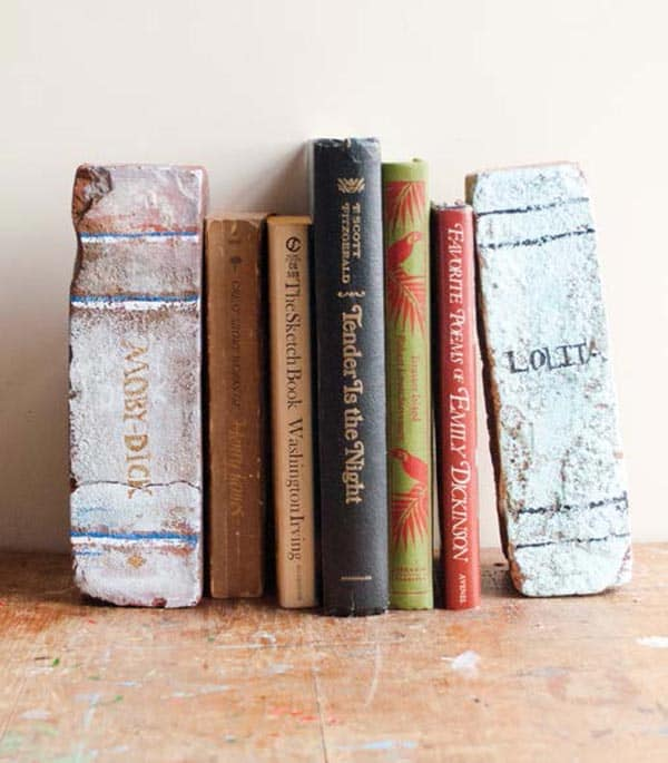 8-Brick-Book-Bookends