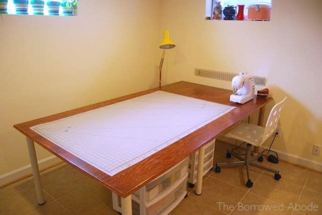 16-Cheap-And-Easy-Large-Sewing-Desk