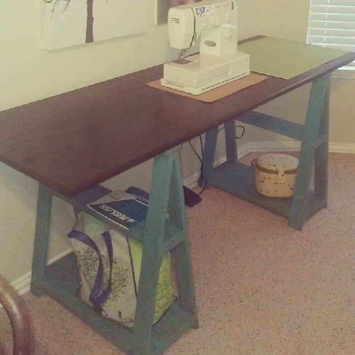 19-Sawhorse-Style-Sewing-Desk