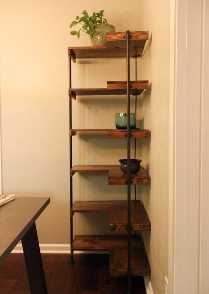 15 Easy DIY Corner Shelves Ideas in 2020