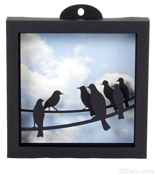 22-4-Layer-Bird-Silhouette-Shadow-Box