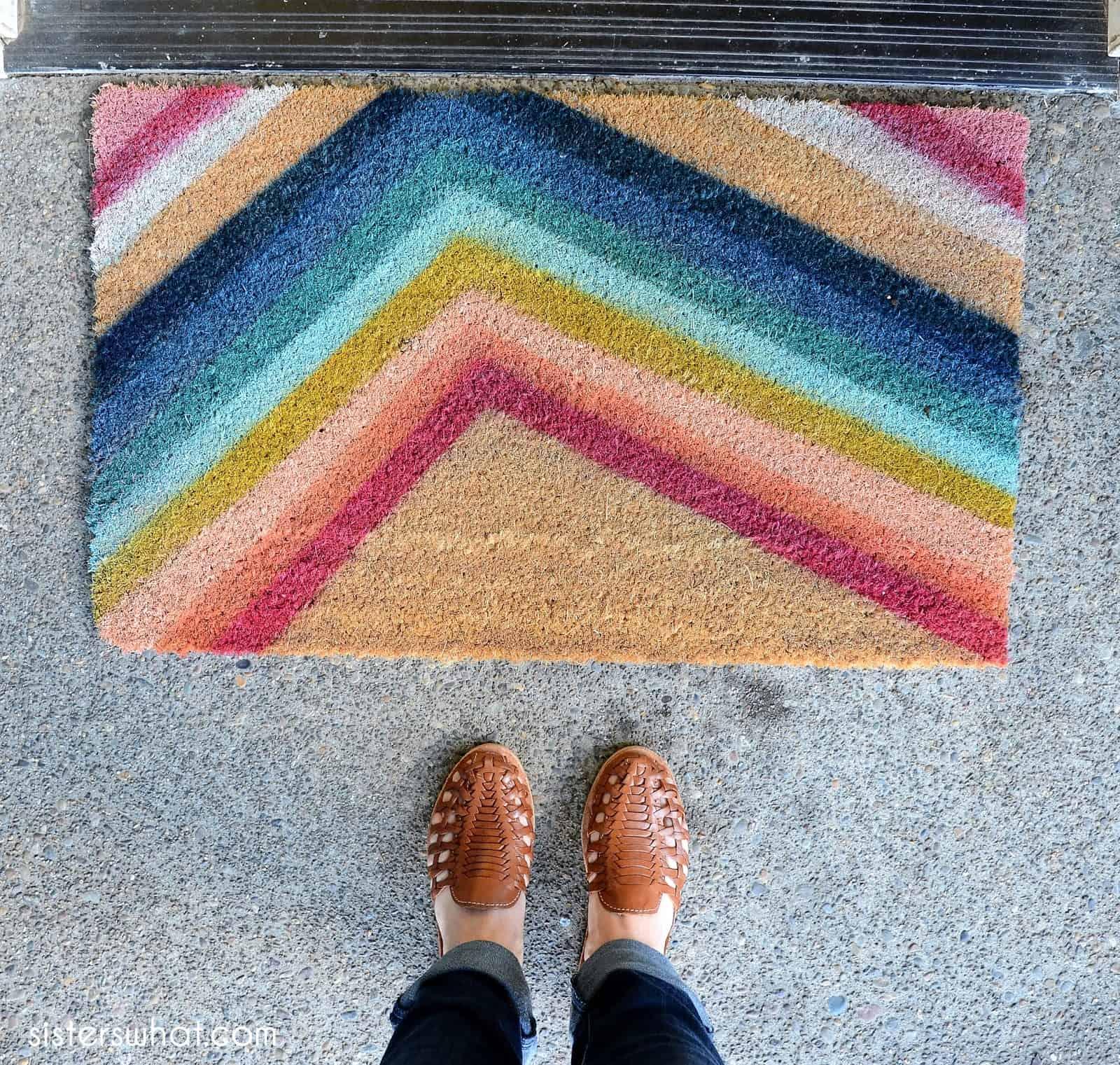 20 DIY Doormats & Outdoor Rugs in 2021