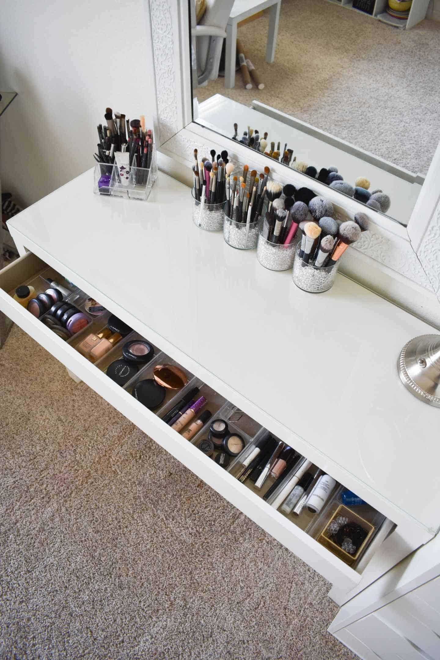 30 DIY Makeup Organizer Ideas in 2021