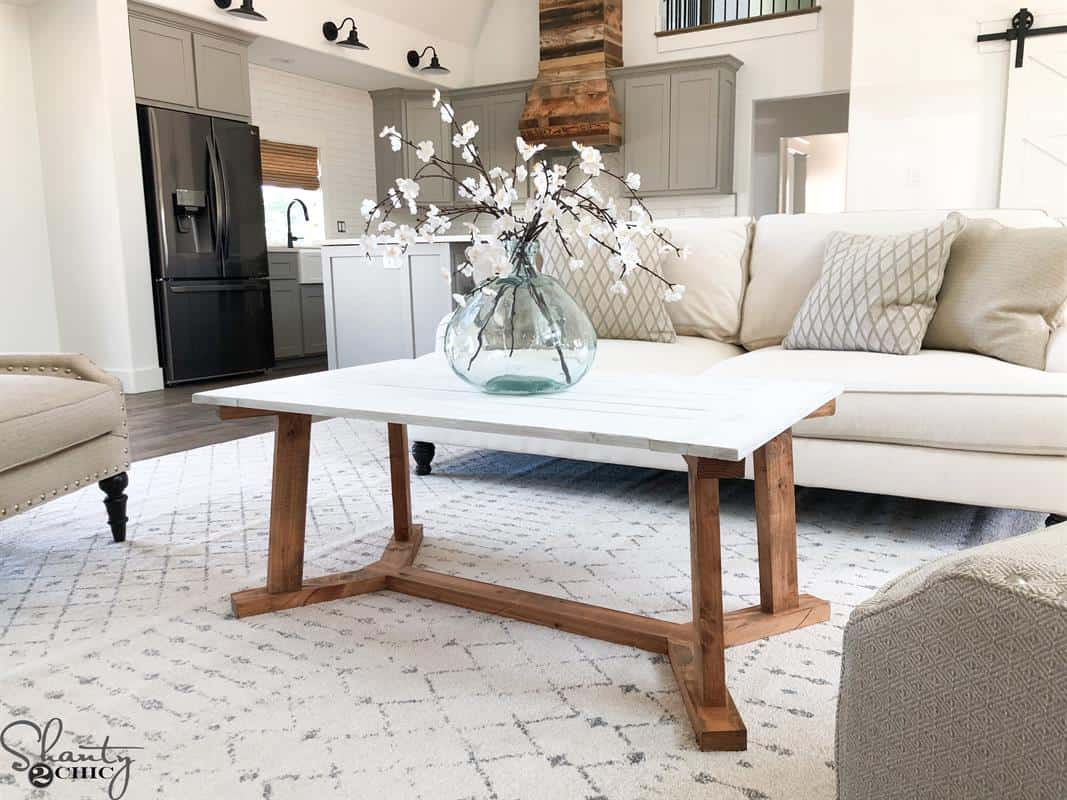 25 DIY Coffee Table Ideas - Add Some Style To Your Home