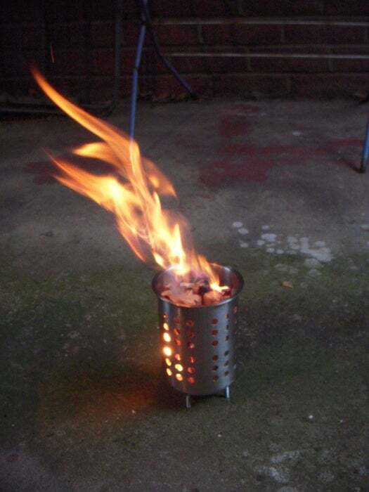 Easy Mini Camping Brazier