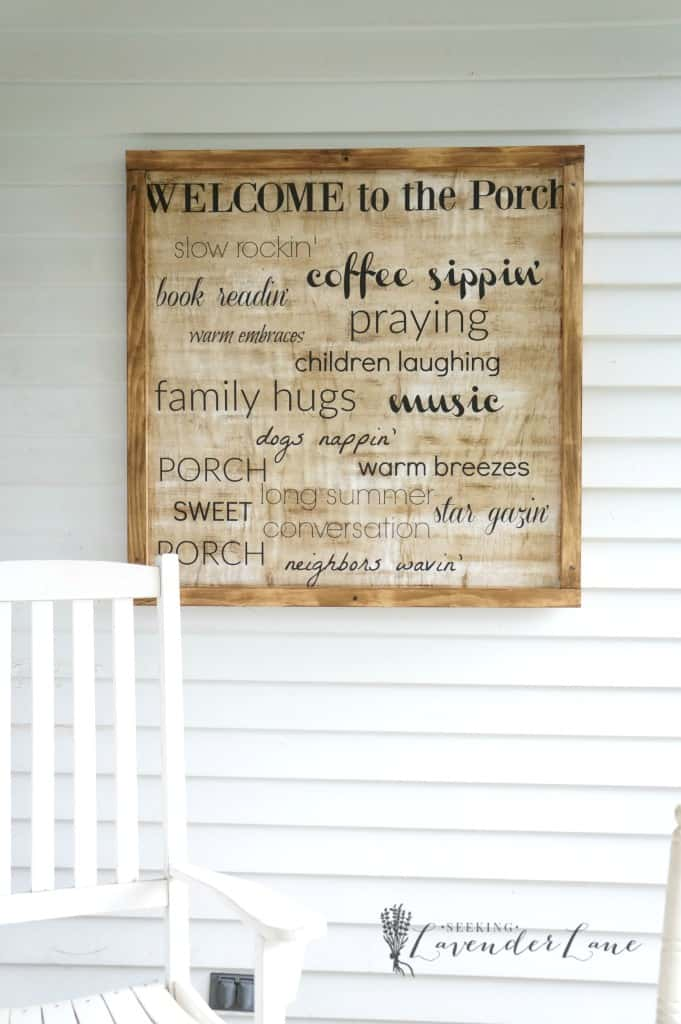 "17-""Welcome-to-the-Porch""-Message-Sign"