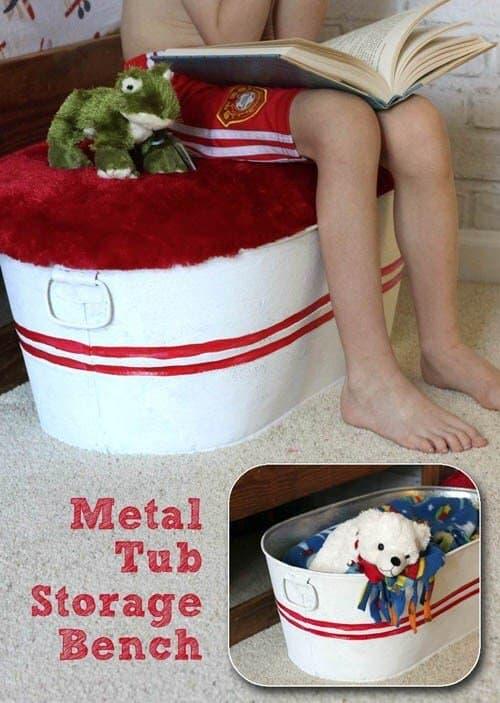 19-Galvanized-Toy-Tub-Bench