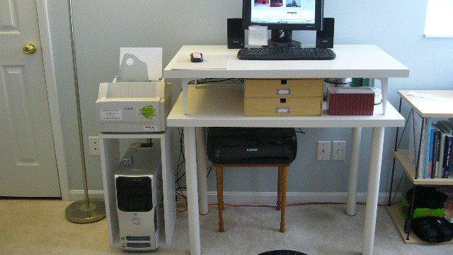 Ikea Hack Double Decker Standing Desk