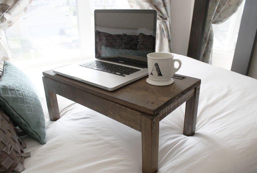 Inexpensive Scrap Wood Lap Desk
