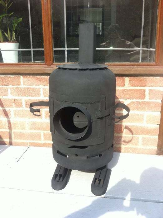Minion Log Burner