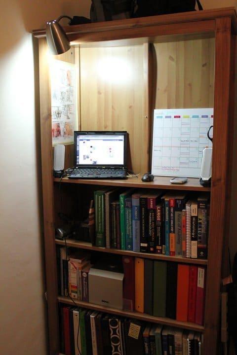 Bookshelf to Standing Desk Upgrade
