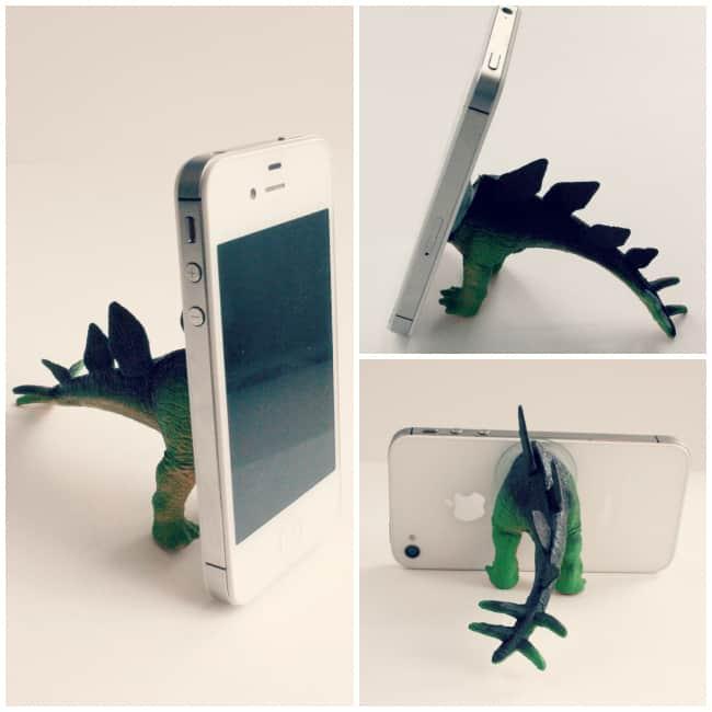 6-Dino-Phone-Stand