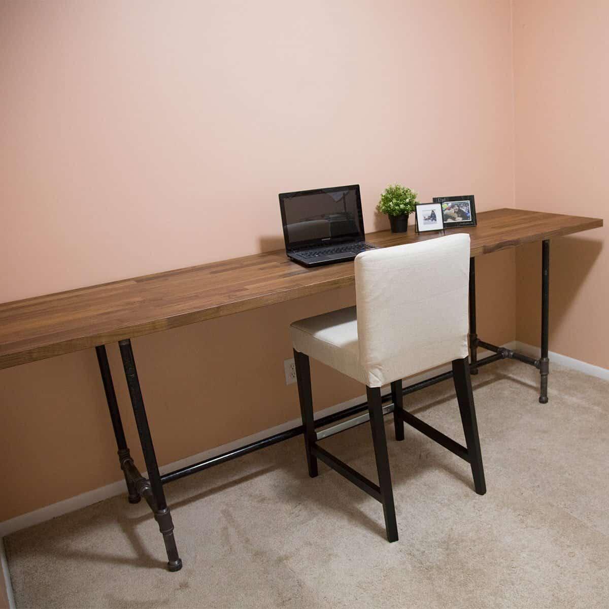 Long Pipe Desk