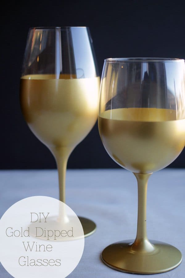 8-Spray-Painted-Gold-Wine-Glasses