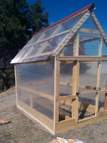 Simple Design Greenhouse
