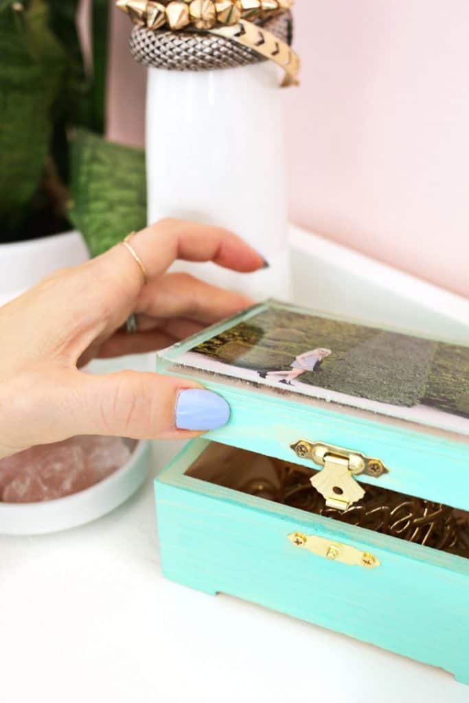 Epoxy Memory Jewelry Box