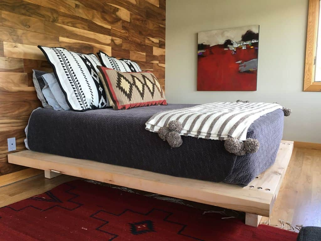 Massive Timber Bed