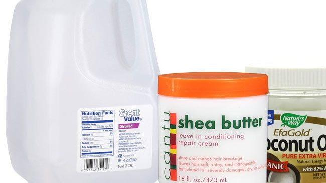 Shea Butter And Oil LOC Mixture Leave-In Conditioner