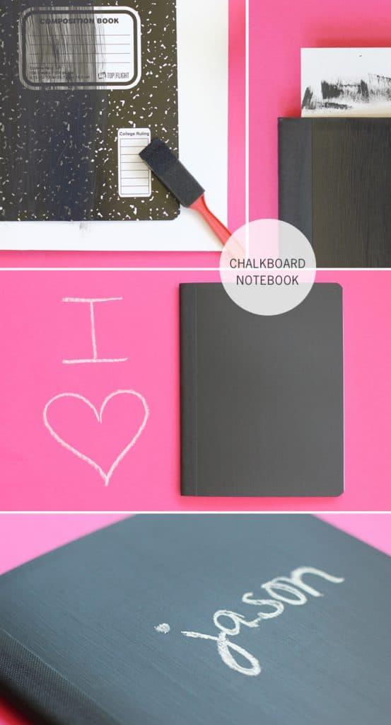 Super Easy Chalkboard Journal