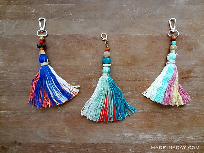 Tassel and Beads