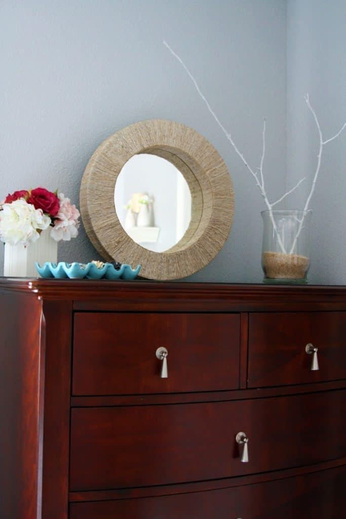 Easy Jute Mirror Frame