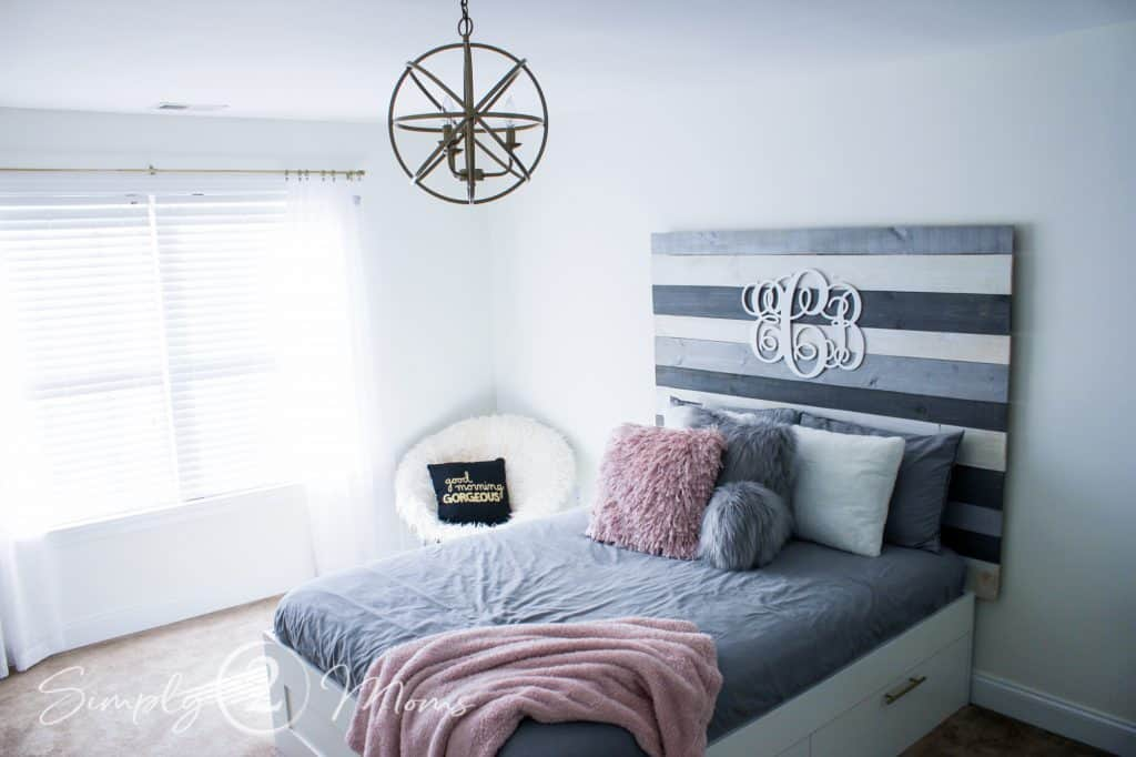 Fancy and Finished Headboard