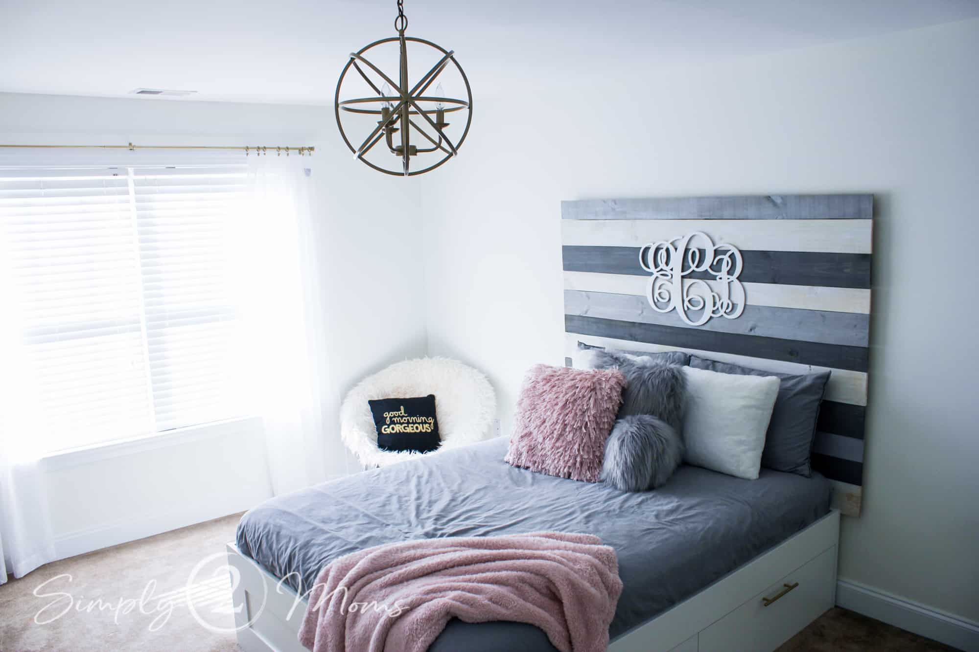 30 Beautiful DIY Pallet Headboard Ideas to Upgrade Your Room