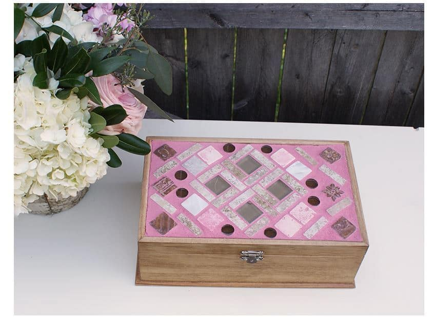 DIY Mosaic Jewelry Box