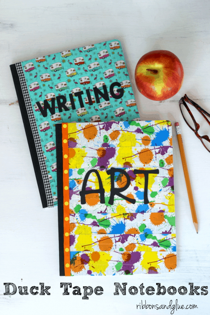 Duct Tape Covered Composition Books