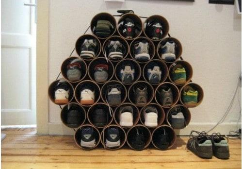 PVC Pipe Rack
