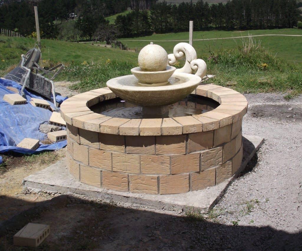 Fishpond Fountain