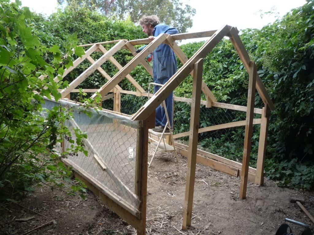 Pallet Greenhouse