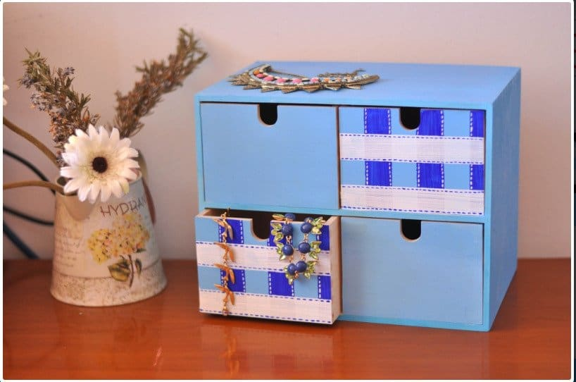 Upgraded Chest of Drawers Jewelry Keeper