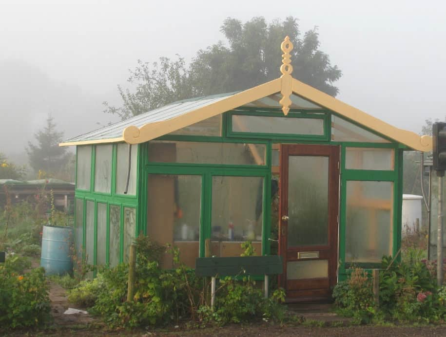 100% Recycled Greenhouse