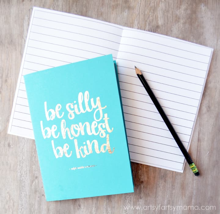 DIY Foil Notebooks