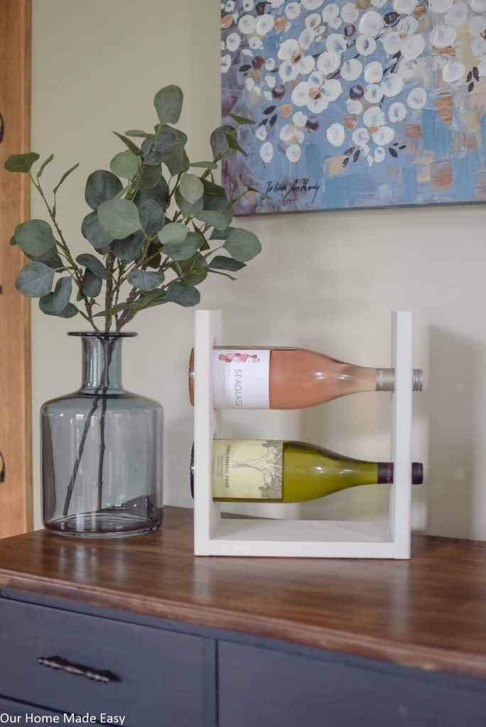 Small Tabletop Wine Rack