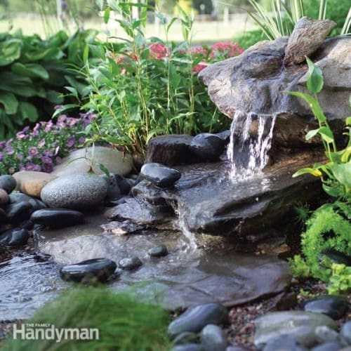 Inexpensive, Low Maintenance Lawn Fountain