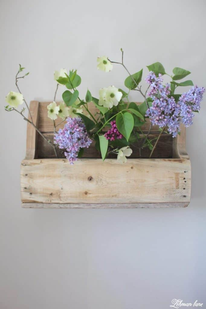 Flower Box Shelf