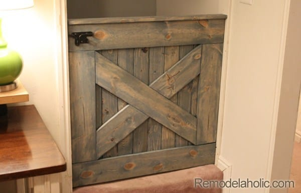 Rustic and Weathered Gate